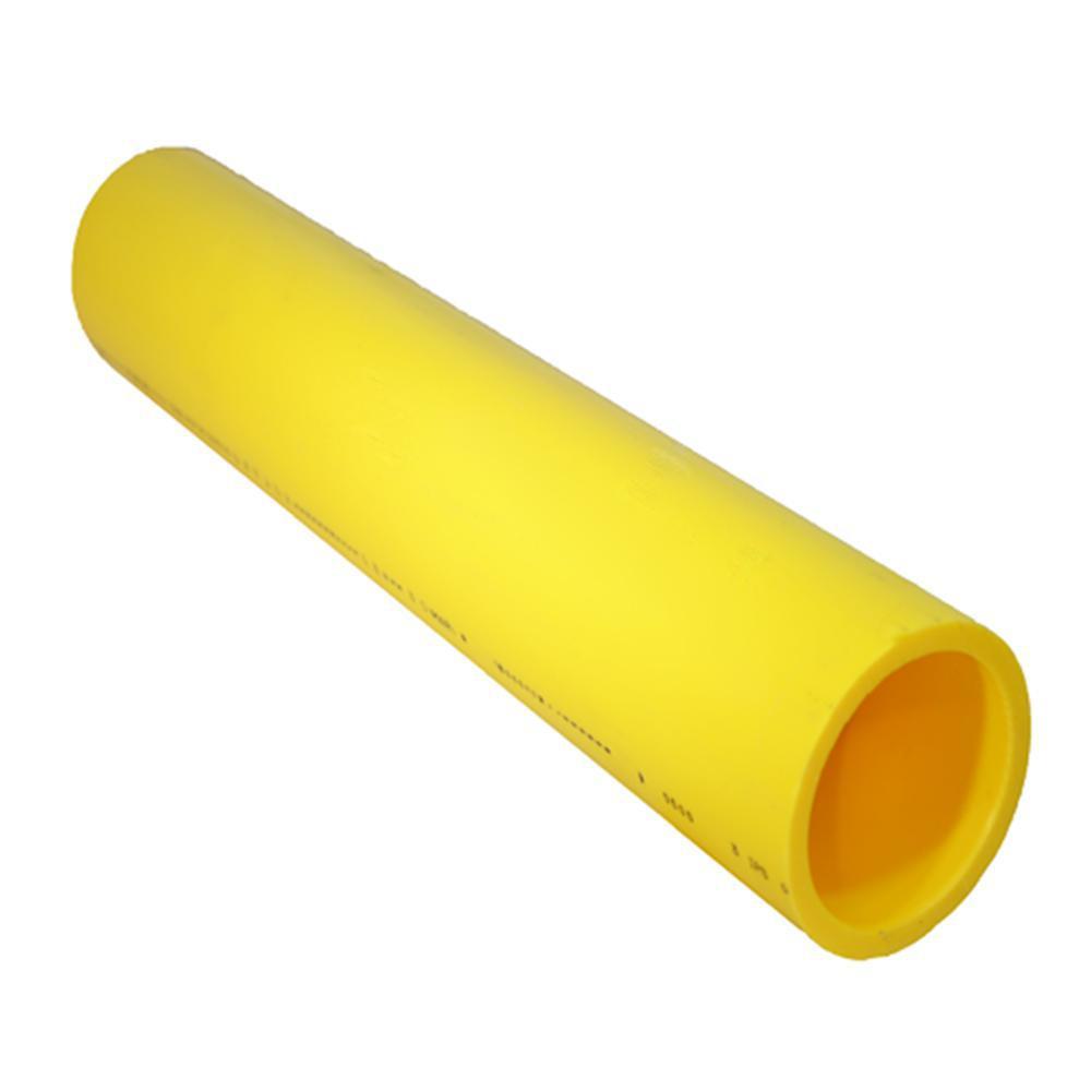 Underground Flexible Polyethylene Gas Pipe Lighter Than Steel 1 in x 100 ft.