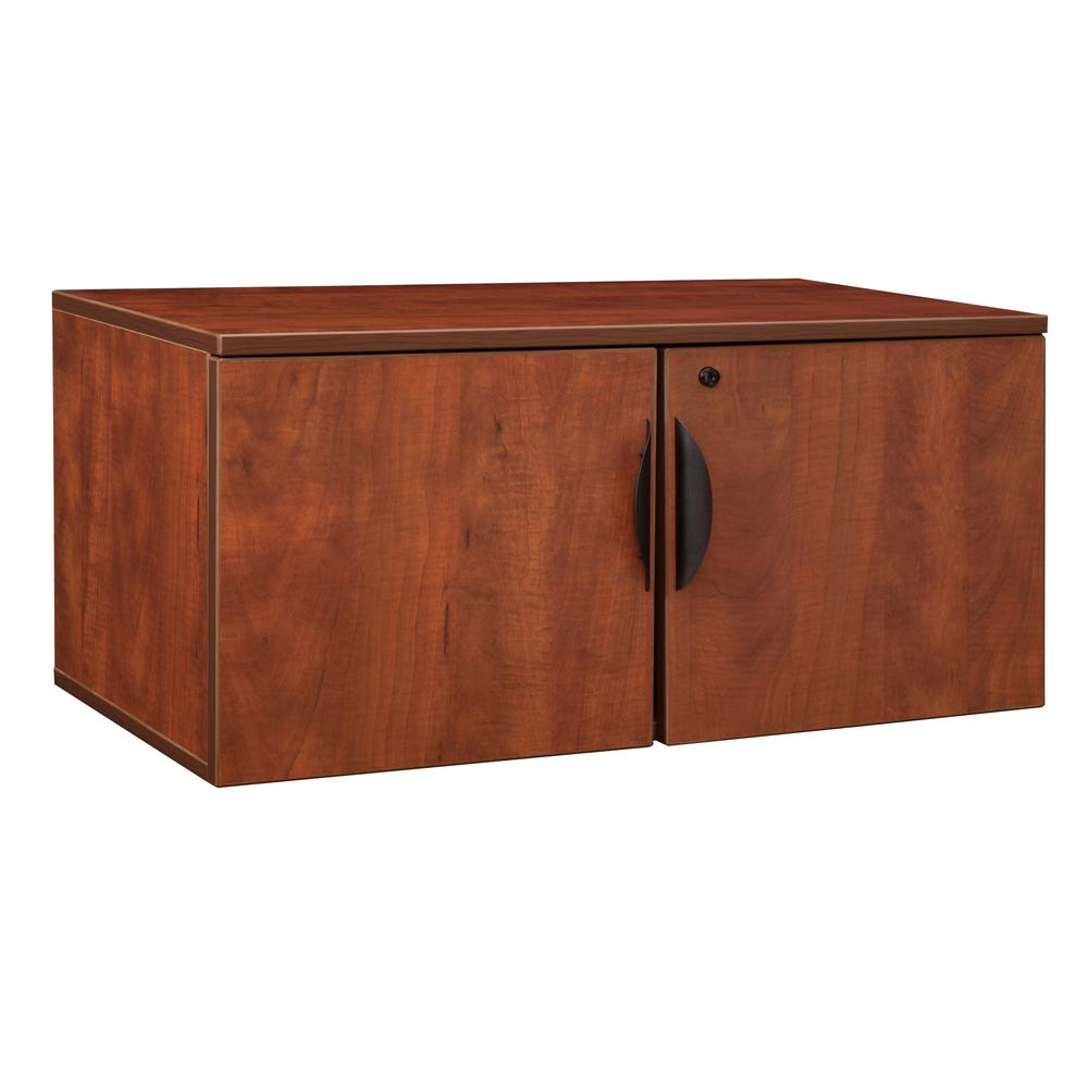 Legacy Cherry Wall Mount Storage Cabinet