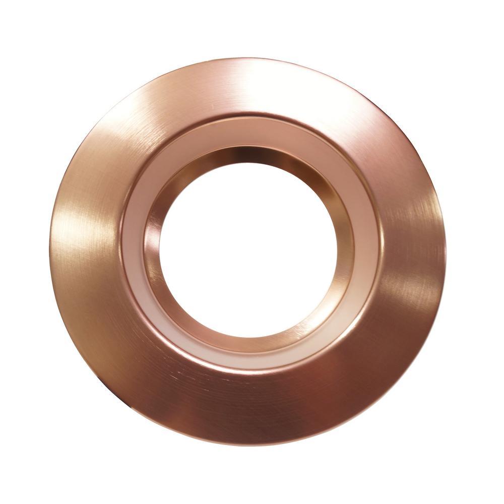 6 in. Copper Recessed Trim