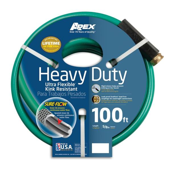 5/8 in. Dia x 100 ft. Heavy Duty Garden Hose