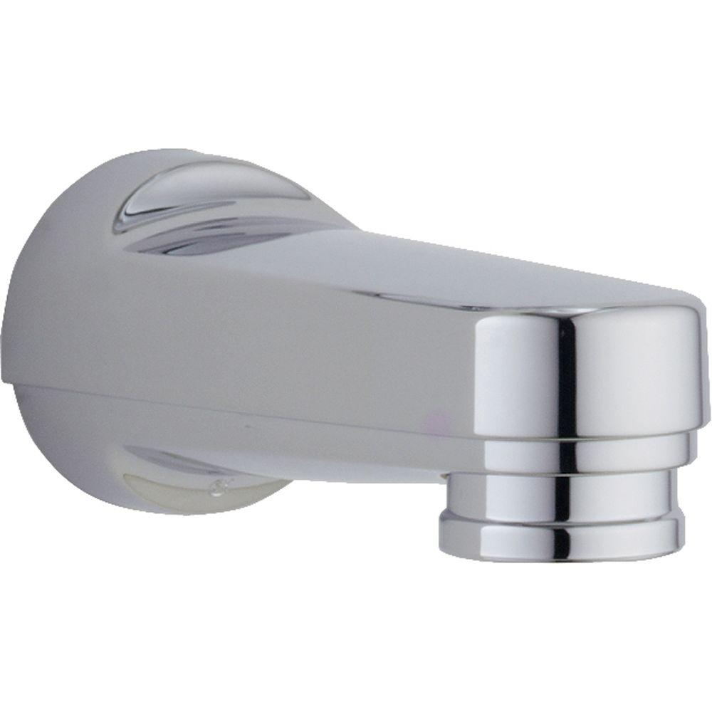 Exceptional Delta Innovations Pull Down Diverter Tub Spout In Chrome RP17453   The Home  Depot