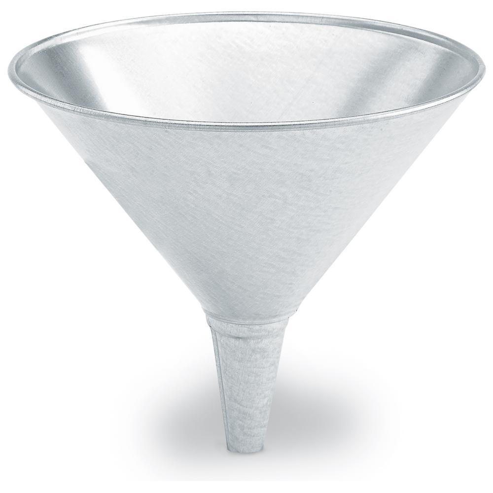Lumax 1 qt./32 oz. Galvanized Funnel by Lumax