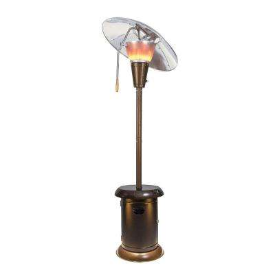38,200 BTU Heat-Focus Gas Patio Heater with Speaker and Light