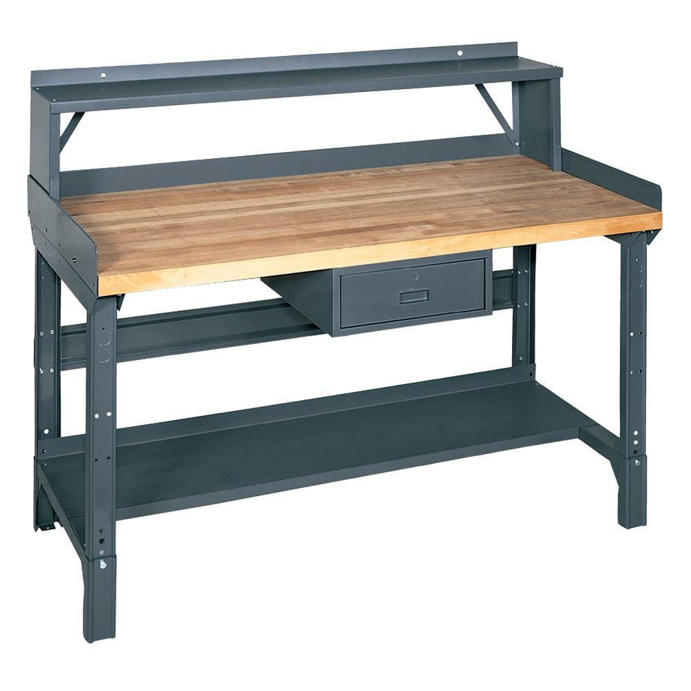 72 in. W x 36 in. D Workbench with Storage