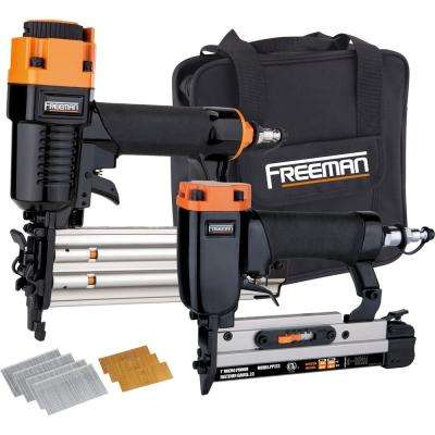 Pneumatic Professional Woodworker Special with Nails (4-Piece)