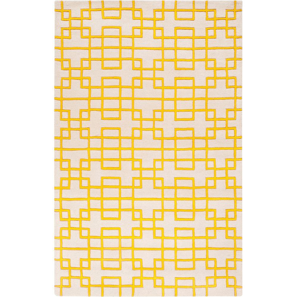 Artistic Weavers Herbert Lemon 3 ft. 3 in. x 5 ft. 3 in. Area Rug