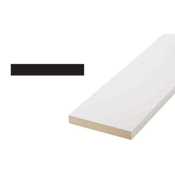 1X6 11/16 in. x 5-1/2 in. x 96 in. Pine Wood Primed Finger-Jointed S4S Moulding Board