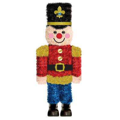 14.75 in. x 6.25 in. Christmas Nutcracker 3D Centerpiece (2-Pack)