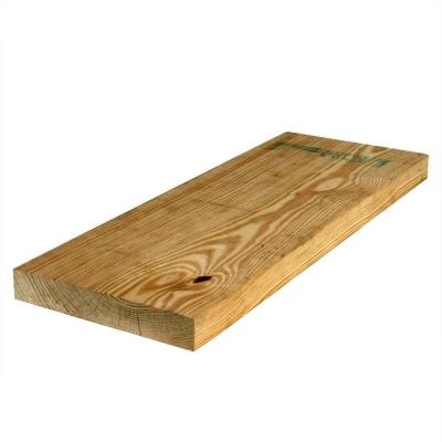 2 in. x 10 in. x 12 ft. #2 Prime or Better Southern Pine Pressure-Treated Lumber
