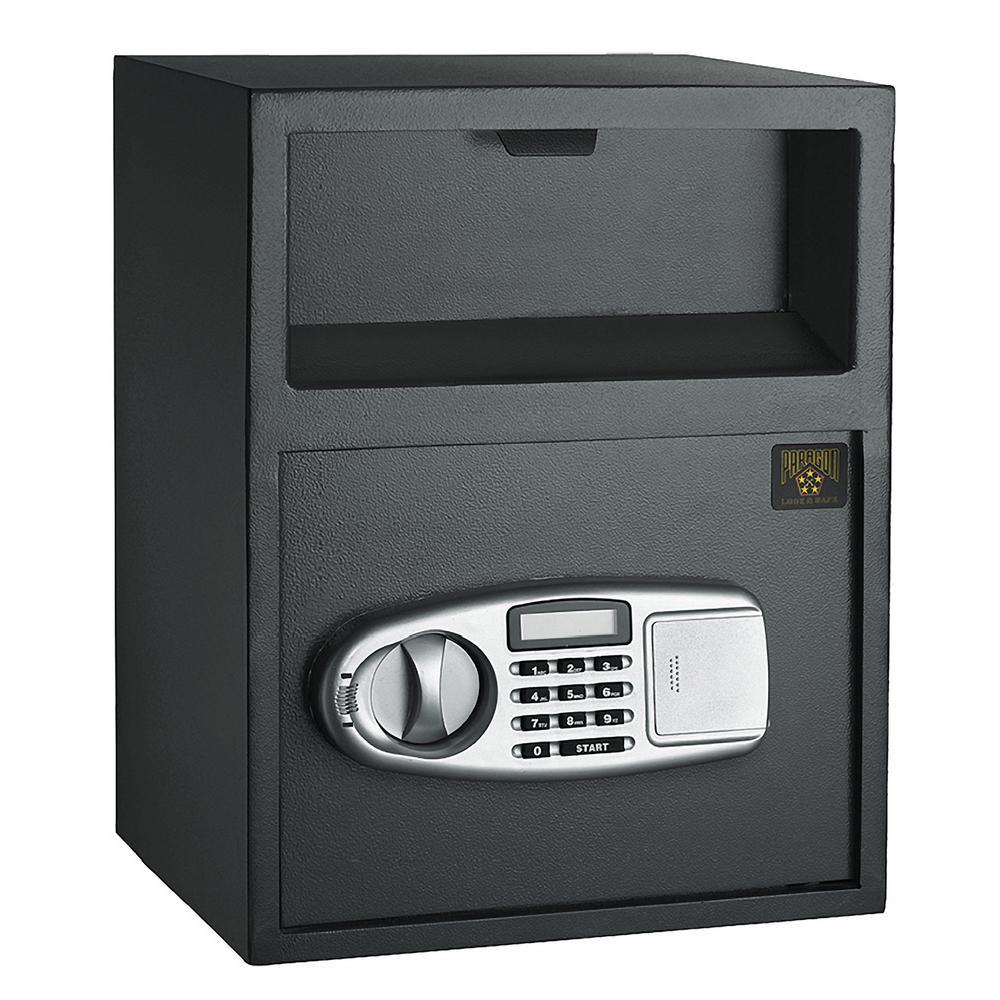 0.95 cu. ft. Lock and Safe Digital Depository Front Load Cash Vault Drop Safe Box