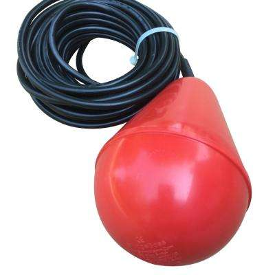 "The ""SludgeBoss"" Heavy Duty Float Switch for Use With Sewage, Suspended Solids and Viscous Liquids"