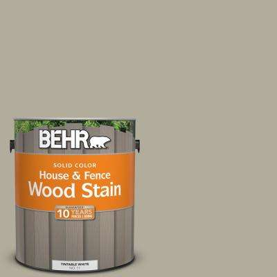 1 gal. #ECC-47-1 Mountain Shade Solid Color House and Fence Exterior Wood Stain
