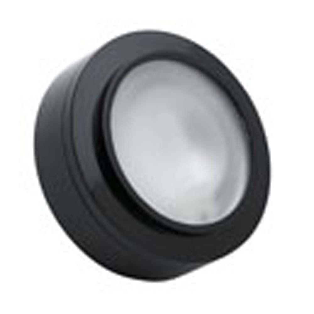 Xenon puck lights under cabinet lights the home depot spectra 1 light xenon black undercabinet light aloadofball Gallery