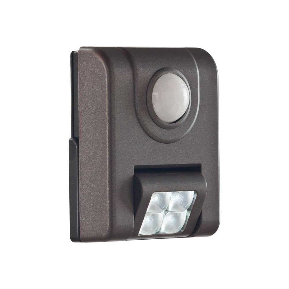 4-LED Sensor Light - Bronze