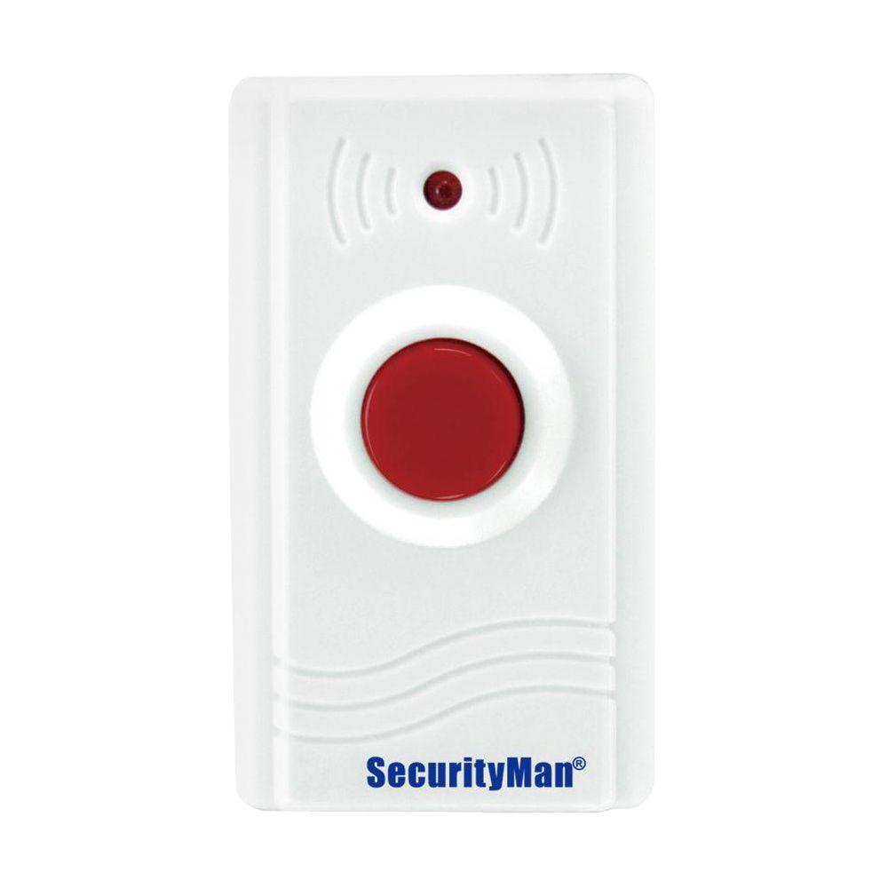SecurityMan Add-on Wireless Panic Button for Air-Alarm II Series-SM ...
