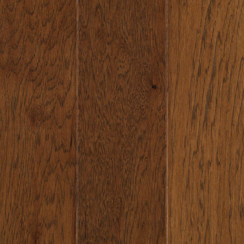 Mohawk Pristine Hickory Suede Engineered Hardwood Flooring - 5 in. x 7 in. Take Home Sample