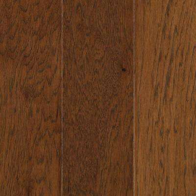 Pristine Hickory Suede Engineered Hardwood Flooring - 5 in. x 7 in. Take Home Sample
