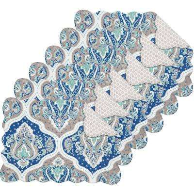 Renee Blue Placemat (Set of 6)