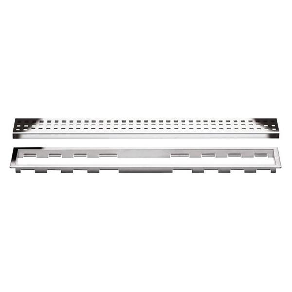 72 Perforated Grate Assembly Schluter Systems Kerdi-Line 3//4 Frame KL1B19EB180