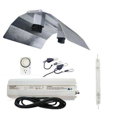 1000-Watt Double Ended HPS 120-Volt/240-Volt Grow Light System with DE  Basic Wing Grow Light Reflector