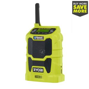 18-Volt ONE+ Cordless Compact Radio with Bluetooth Wireless Technology (Tool-Only)