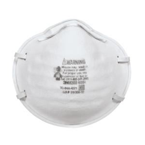 3M Full-Face Sanding and Fiberglass Respirators (20-Pack) (Case of 4) by 3M