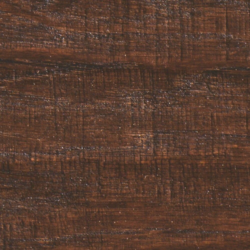 Millstead Take Home Sample - Hand Scraped Hickory Chestnut Engineered Hardwood Flooring - 5 in. x 7 in.