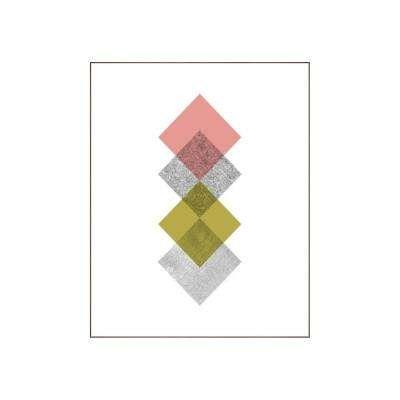 "60.25 in. x 48.25 in. ""Concentric IV"" by Bobby Berk Printed Framed Wall Art"