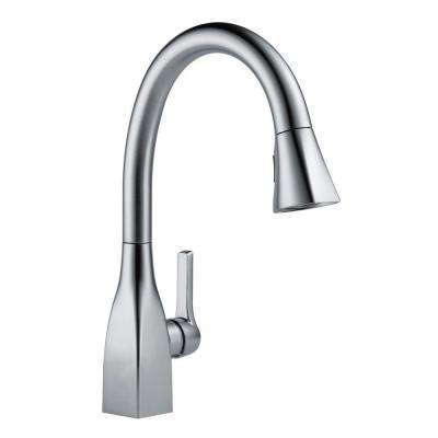 Mateo Single-Handle Pull-Down Sprayer Kitchen Faucet in Arctic Stainless