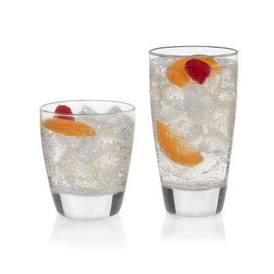Classic 16-Piece Drinkware Glass Set