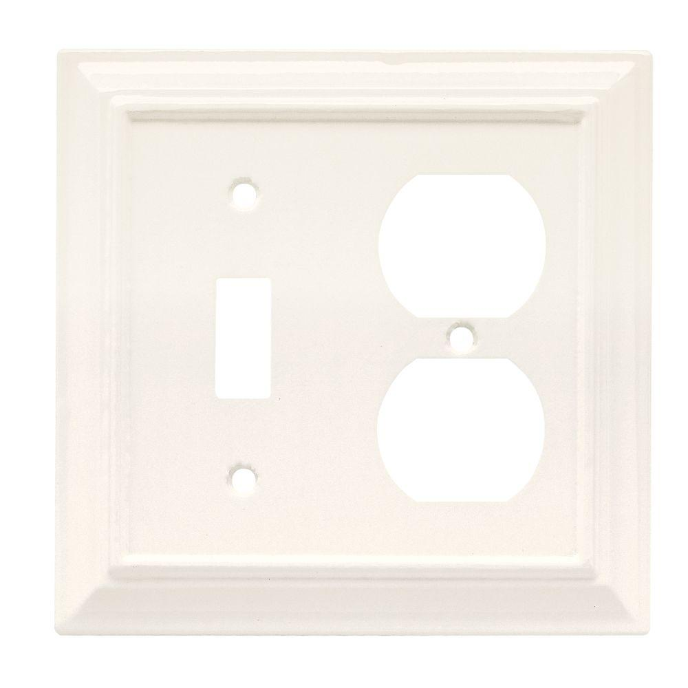 acrylic mirror 1 toggle wall plate wood decorative switch and duplex