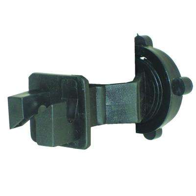 Black T-Post W-Style Polywire Insulator (25-Pack)