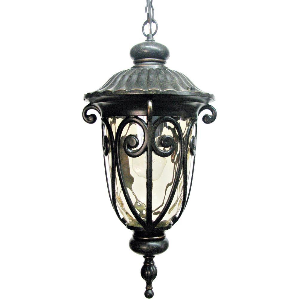 Hailee 1-Light Oil-Rubbed Bronze Pendant