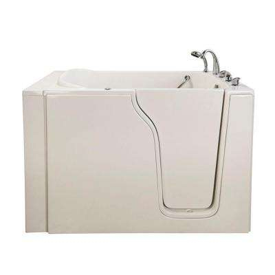 Bariatric 4.58 ft. x 35 in. Walk-In Bathtub in White with Right Door/Drain