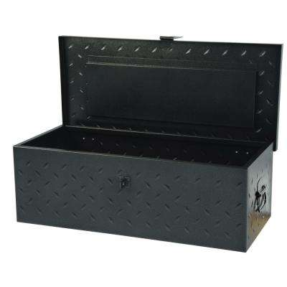 31 in. Utility Tool Box Black