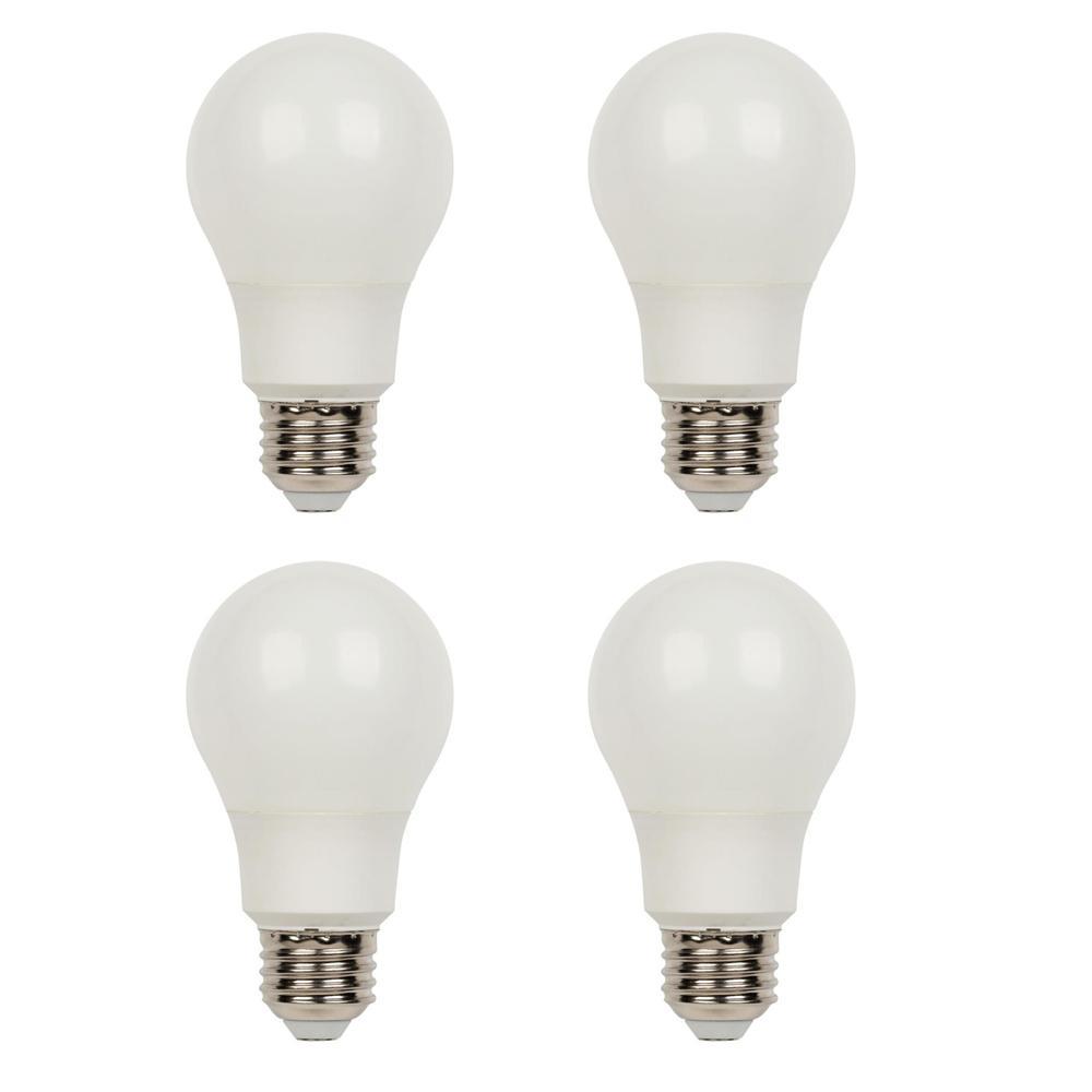Westinghouse 40-Watt Equivalent Omni A19 Dimmable 3000K LED Light Bulb (4-Pack)