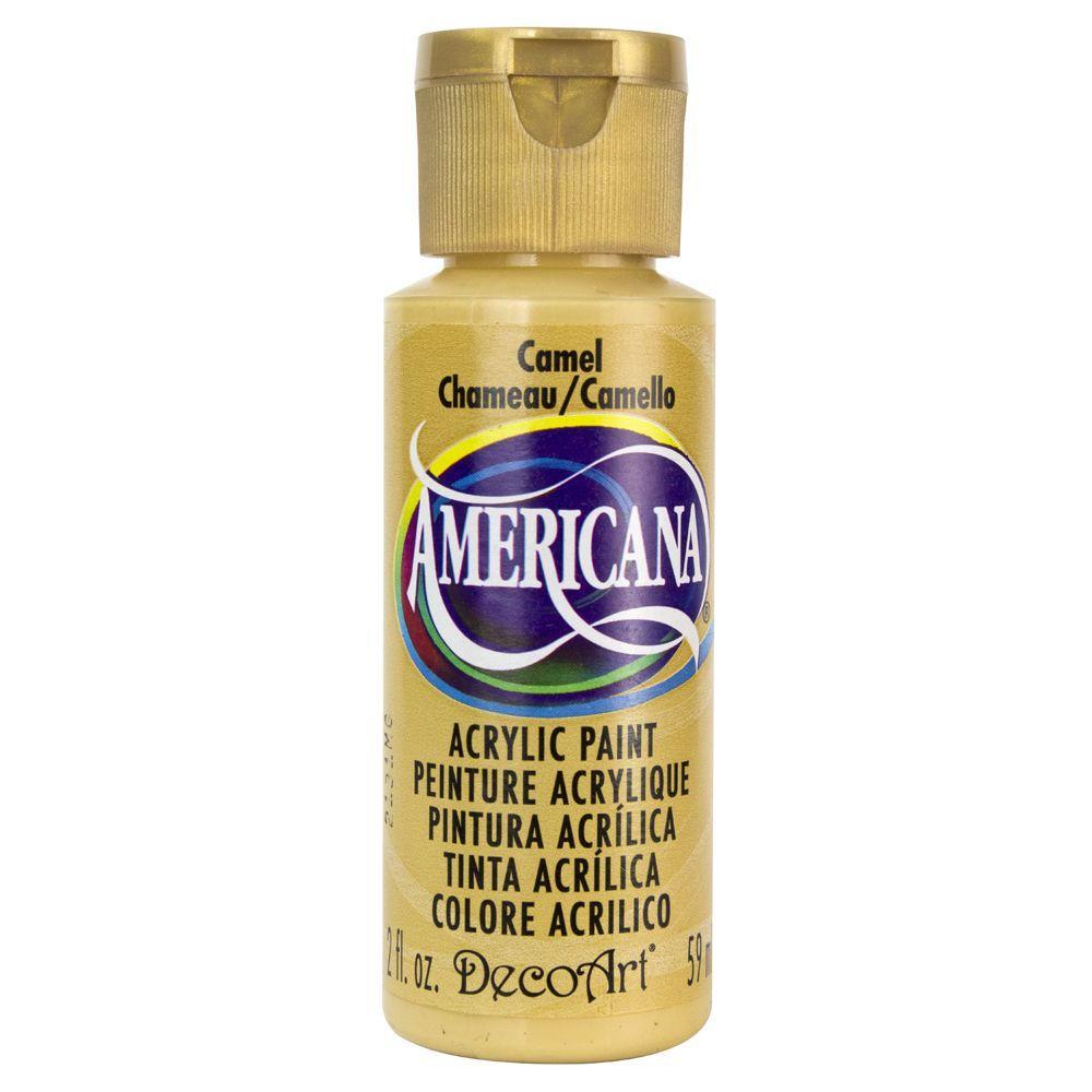Americana 2 oz. Camel Acrylic Paint