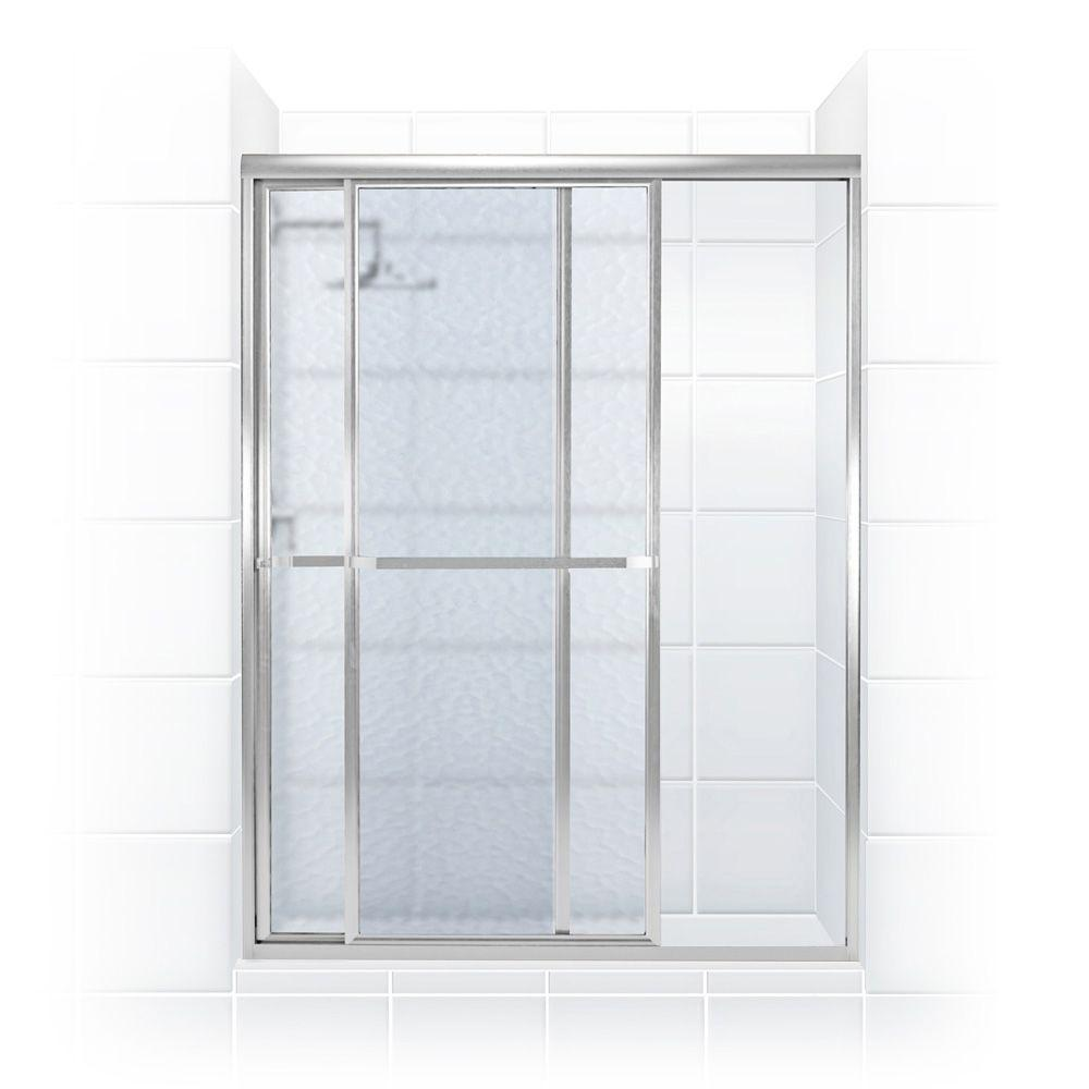 coastal shower doors paragon series 40 in x 66 in framed sliding shower door