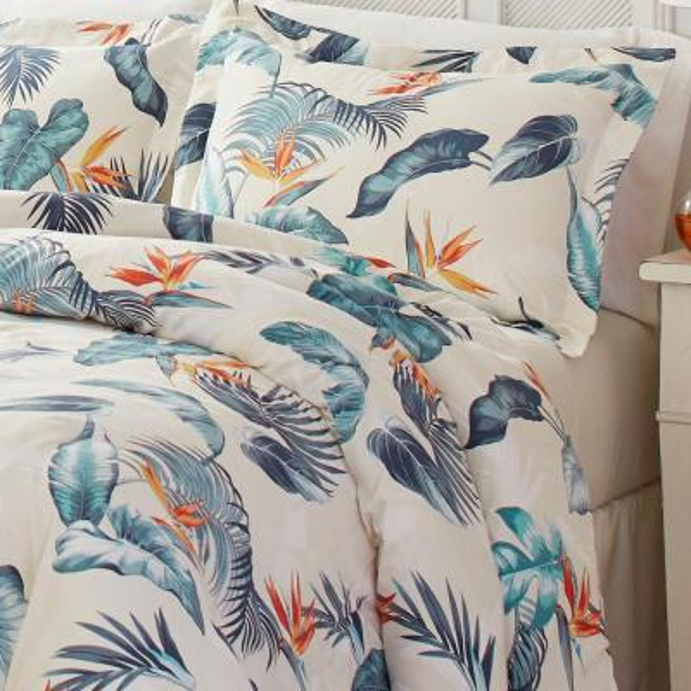 Birds Eye View Cotton Comforter Set