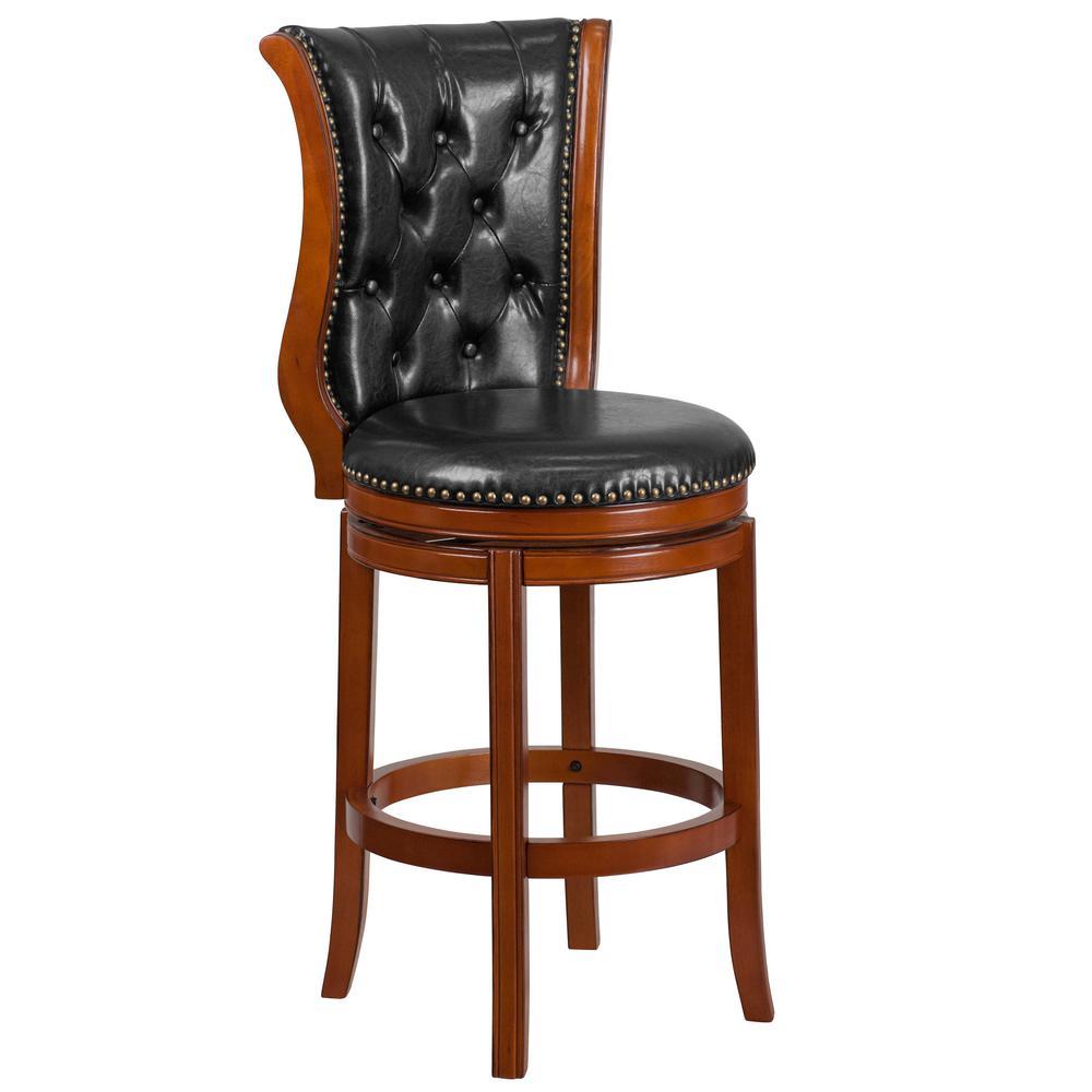 Flash Furniture 30 5 In Black Bar Stool Ta2301230b The Home Depot