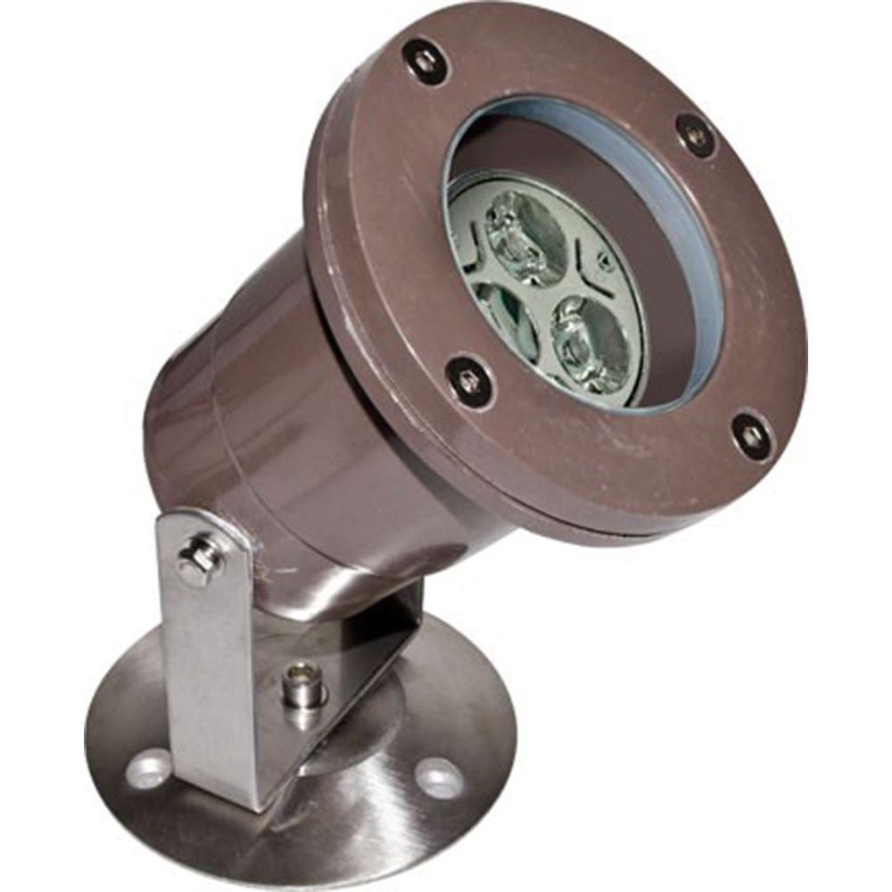Noa 3-Light Bronze Outdoor LED Underwater Light