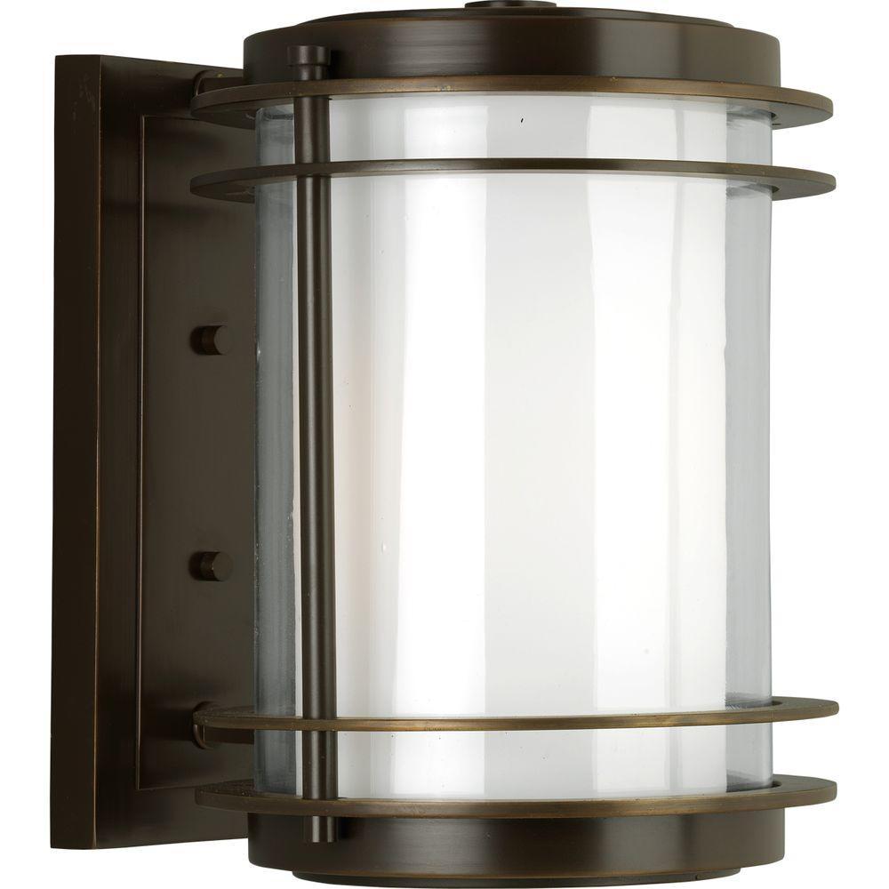 Progress Lighting Penfield Oil Rubbed Bronze Outdoor Wall Lantern