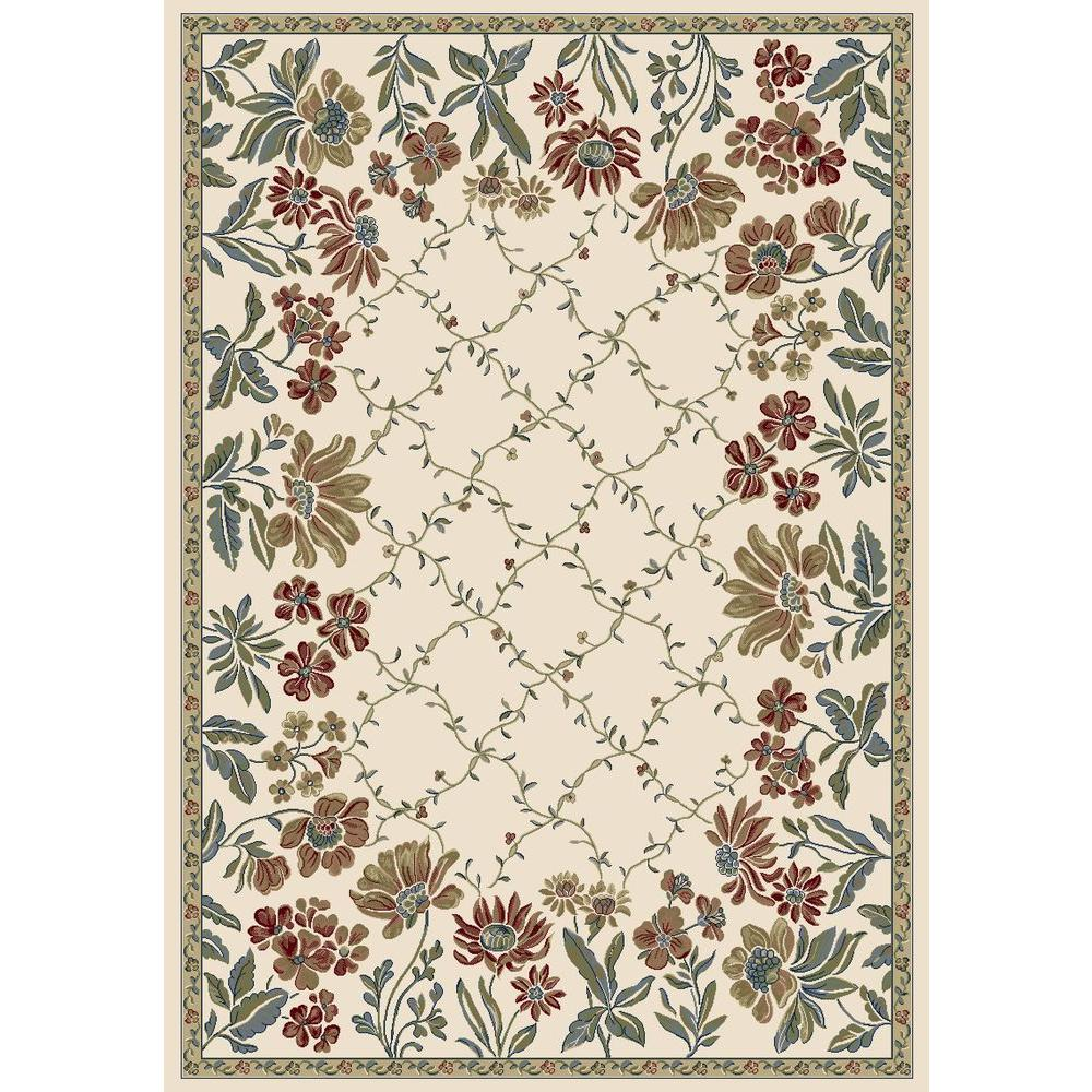 Home Decorators Collection Celestial Ivory 3 ft. x 5 ft. Indoor Area ...