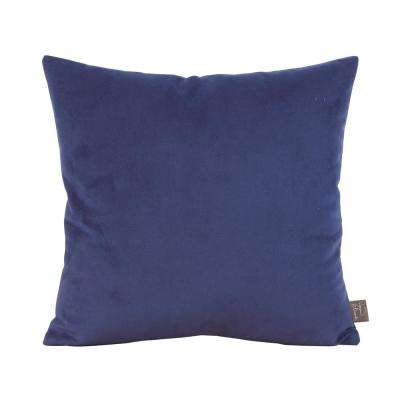 Bella Blue Royal 16 in. x 16 in. Decorative Pillow