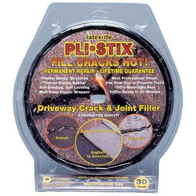 Pli-Stix 2.25 lbs. 30 ft. Medium Black Driveway Crack and Joint Filler