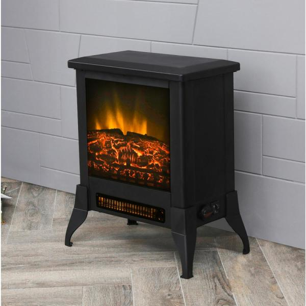 In Freestanding Electric Fireplace, Cast Iron Electric Fireplace Stove