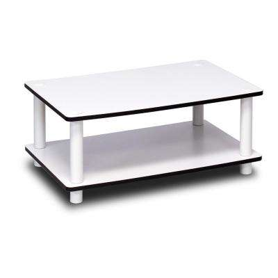 Just White 2-Tier Coffee Table