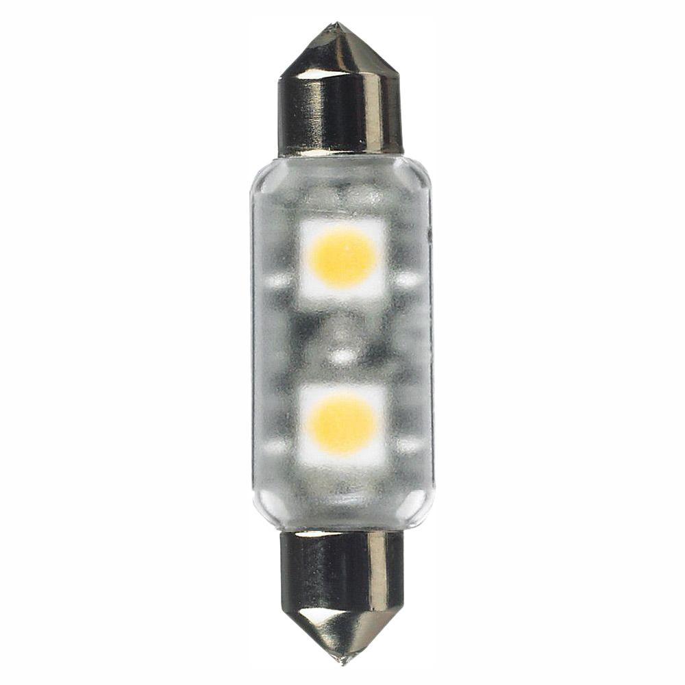 12-Volt LED Frosted Festoon Lamp (2700K)