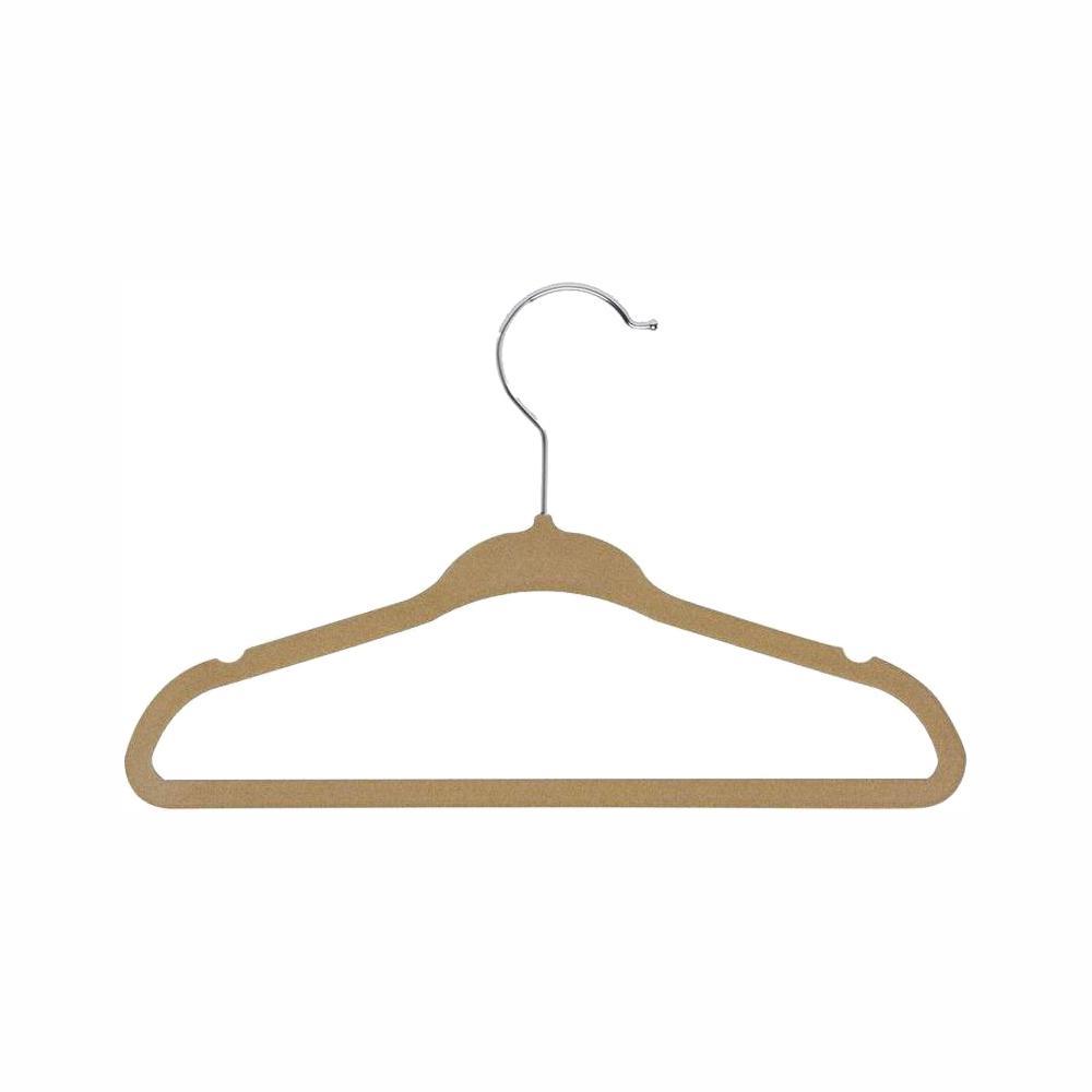 Kids Velvet Touch Suit Hangers (60-Pack)