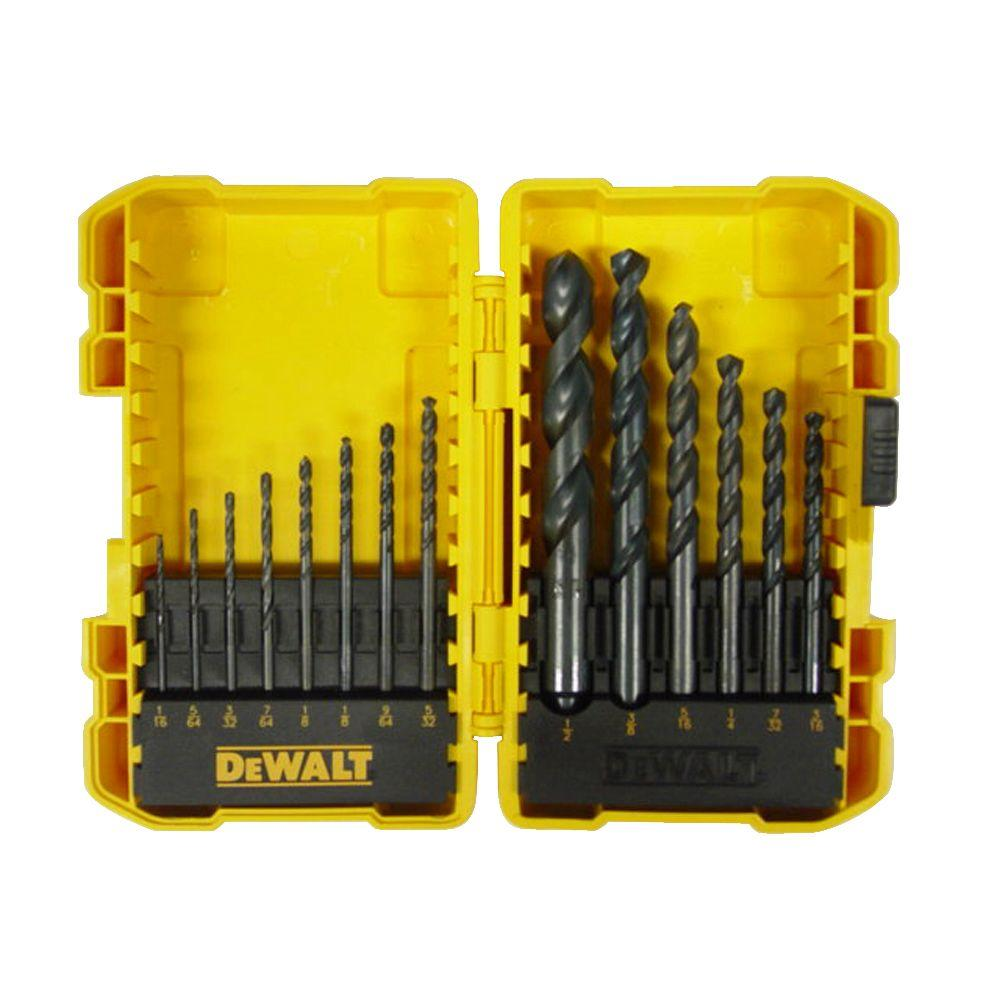 Black Oxide Drill Bit Set (14-Piece)